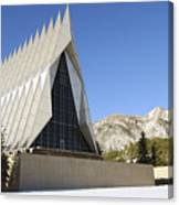 The Cadet Chapel At The U.s. Air Force Canvas Print