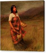The Call Of Makila Mad Tha Canvas Print