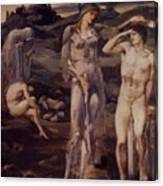 The Calling Of Perseus 1898 Canvas Print