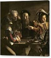 The Calling Of St. Matthew Canvas Print