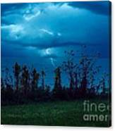 The Calm Before The Storm. Canvas Print
