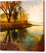 The Calm By The Creek Canvas Print