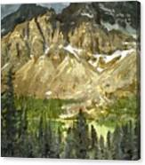 The Canadian Rockies Canvas Print