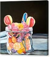 The Candy Jar Canvas Print