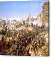 The Capture Of Constantine Canvas Print