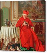 The Cardinal's Favourite Canvas Print
