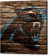 The Carolina Panthers 4a Canvas Print