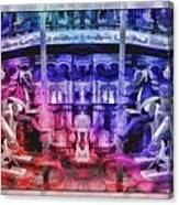 The Carousel Of Alice   Canvas Print
