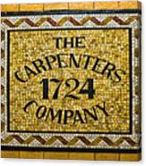 The Carpenters Company Canvas Print