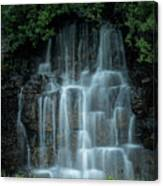 The Cascading Waterfall Canvas Print