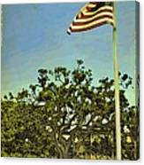 The Casements Flag Flying Canvas Print