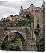 The Castle And The Bridge Canvas Print