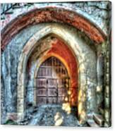 The Castle Door - La Porta Del Castello Canvas Print