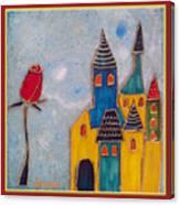 The Castle Lives Canvas Print