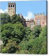 The Castle Of Camino Canvas Print