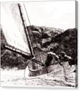 The Cat Boat, Edward Hopper Canvas Print