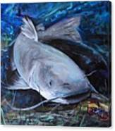 The Catfish And The Crawdad Canvas Print
