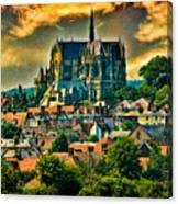The Cathedral At Arundel Canvas Print