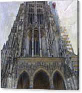 The Cathedral At Ulm Canvas Print