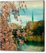 The Cathedral Basilica Of The Sacred Heart Canvas Print
