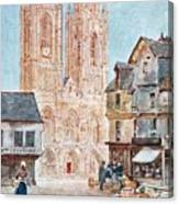 The Cathedral Front Canvas Print