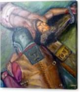 The Centurion Canvas Print
