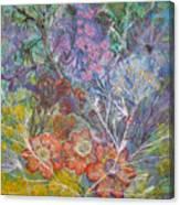 The Chakrah Garden Canvas Print