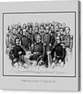 The Champions Of The Union -- Civil War Canvas Print