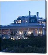 The Chanler At Cliff Walk Canvas Print