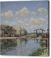The Channel Of Saint Martin Canvas Print