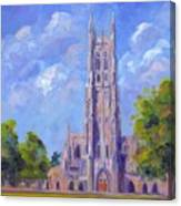 The Chapel At Duke University Canvas Print