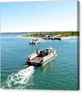 The Chappy Ferry Canvas Print