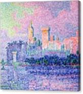 The Chateau Des Papes Canvas Print