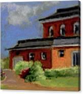 The Chateau House  Canvas Print