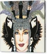 The Cher-est Painting Canvas Print
