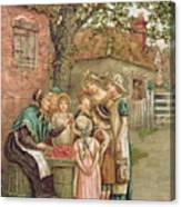 The Cherry Woman Canvas Print
