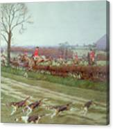 The Cheshire Away From Tattenhall Canvas Print