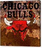The Chicago Bulls R2 Canvas Print