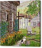 The Chicken Coop Canvas Print