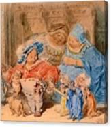 The Childhood Of Gargantua Canvas Print
