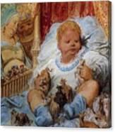 The Childhood Of Pantagruel Canvas Print