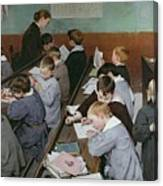 The Children's Class Canvas Print
