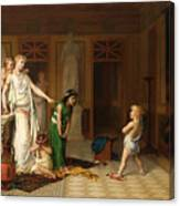The Children's Quarrel Canvas Print