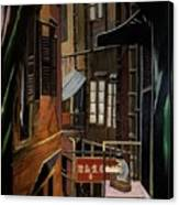 The Chinese Painter Canvas Print