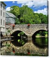 The Choate Bridge Canvas Print