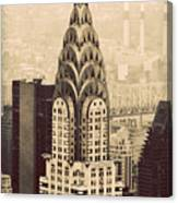 The Chrysler Building New York Canvas Print