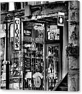 The Cigar Store Canvas Print