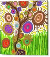 The Circle Tree Canvas Print