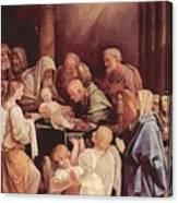 The Circumcision Of The Child Jesus 1640 Canvas Print