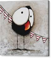 The Circus Crow Four Canvas Print